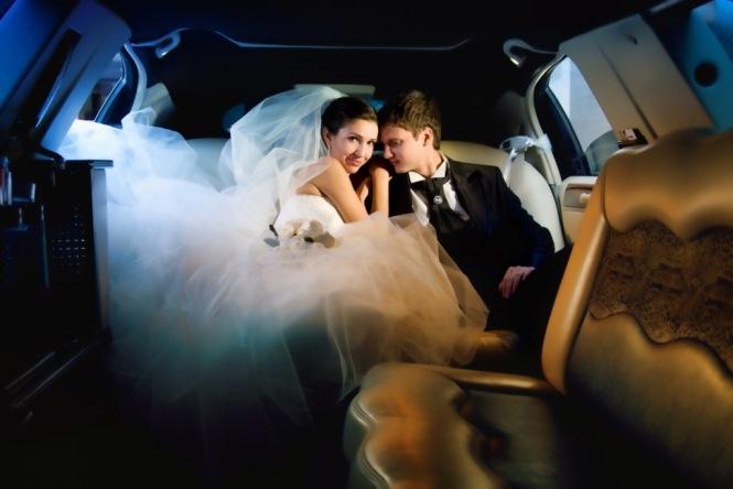 Свадьба в лимузине